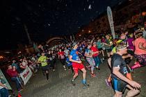 Noční běh v Kroměříži. Ilustrační foto