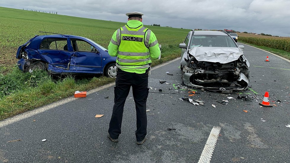Tragická dopravní nehoda mezi Šelešovicemi a Jarohněvicemi, 26.září 2020