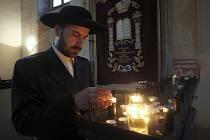 353. výročí úmrtí rabína Šácha v Šáchově synagoze v Holešově.