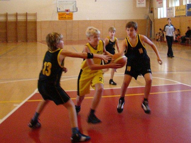 Mladí basketbalisté Kroměříže snadno vyhráli.