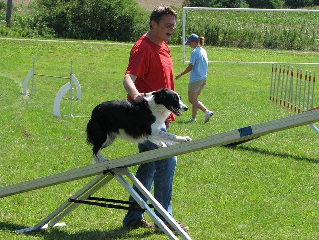 Kulaté výročí hasičů spojené s hody oslavili o víkendu 26. a 27. července 2008 ve Chvalnově-Lískách. Na programu byla například i ukázka agility - výcviku psů.