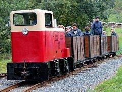 Projížďka Rajnochovickou lesní železnicí