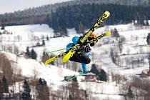 Jiří Volák z Kroměříže se freeskiingu věnuje už dlouhoou dobu: i proto dostal od České televize nabídku na spolukomentování snowboardových disciplín.