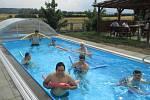 Domov pro osoby se zdravotním postižením Barborka má nový bazén