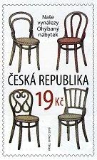Slavnostní uvedení nové poštovní známky s motivy ohýbaného nábytku připravili na sobotu 23. června v Bystřici pod Hostýnem. Pošta ji vydává v rámci edičního tématu Naše vynálezy, autorem je výtvarník Pavel Sivko.