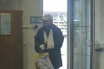 Neznámý pachatel přepadl banku v Bystřici pod Hostýnem