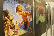 Zájemci mají poslední možnost vidět putovní výstavu uměleckých děl pacientů se schizofrenií s názvem Jsem jako ty a to v Muzeu Kroměřížska.