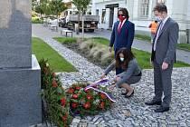 Uctění památky rumunských vojáků tichou vzpomínkou.