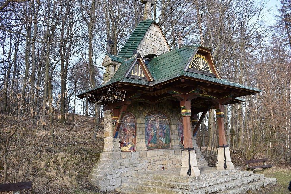 Jurkovičova Křížová cesta na svatém Hostýně.
