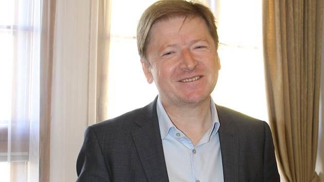 Jaroslav Němec, starosta Kroměříže.
