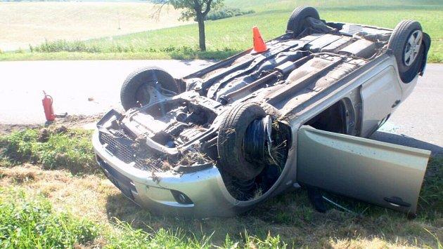 Nehoda u Hlinska pod Hostýnem