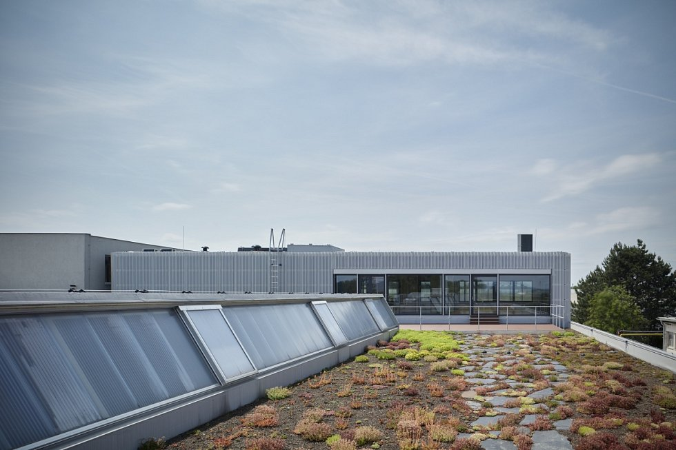 Výrobní a administrativní objekt firmy Pilana Karbid v Hulíně