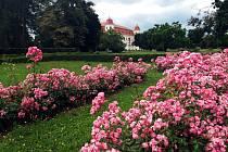 Unikátní zámecká zahrada Holešovského zámku