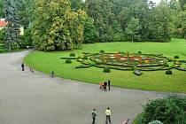 Kroměřížské zahrady Květná a Podzámecká, které jsou společně s tamním zámkem zařazeny na seznam památek UNESCO.