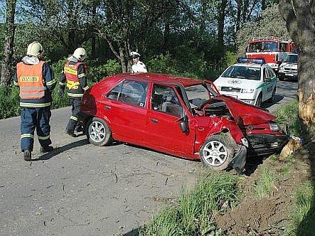 Nehoda u Prusinovic