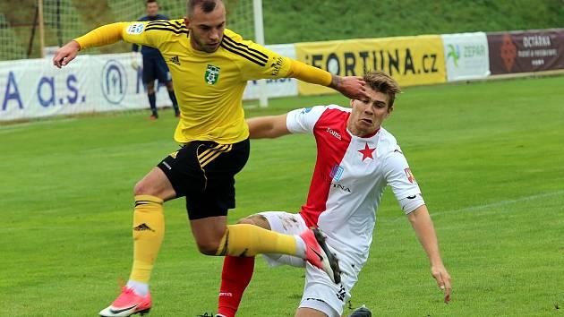 fotbal SK Hanácká Slávia - MFK Karviná
