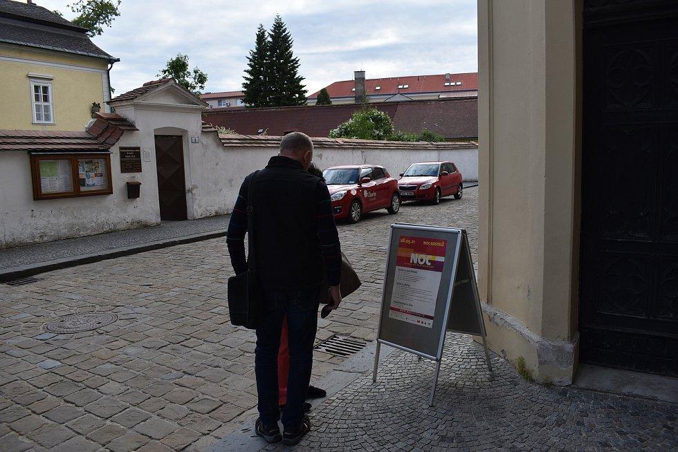 Noc kostelů - Kostel sv. Mořice v Kroměříži.