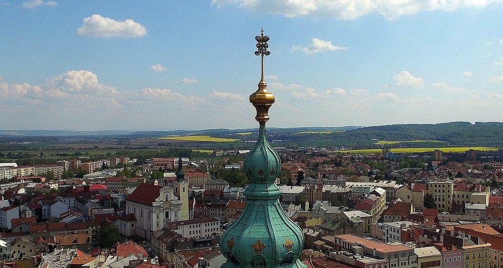 Výhled na Kroměříž