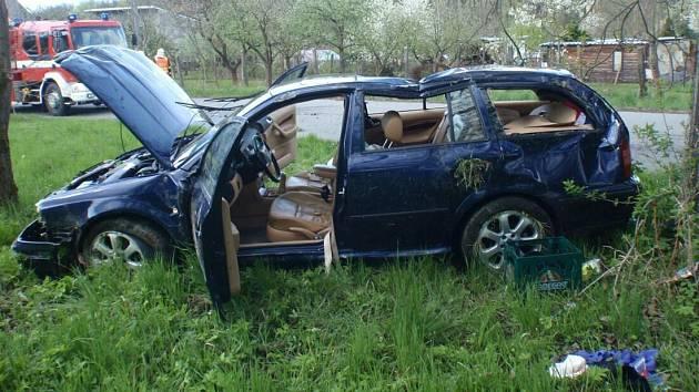 Nehoda v Kroměříži