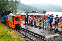 Rajnochovická lesní železnice.