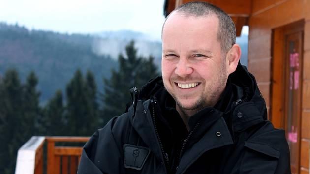 Na snímku Jakub Juračka provozovatel skiareálu Troják.
