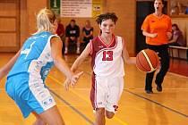 Mladé basketbalistky Slavie se probojovaly mezi naši elitu.