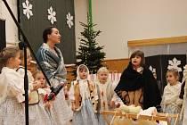 V holešovském SVČ TYMY se konalo Vánoční pohlazení roku 2019.