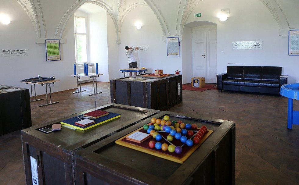 Interaktivní výstava na zámku v Holešově