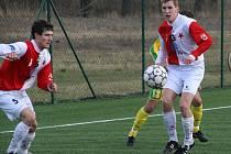 Jiří Kovařík (vlevo) a Petr Janča nastupovali také v týmu Zlína.
