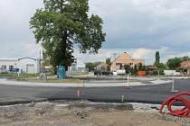 Od půlky dubna už trvají stavební práce v Kotojedech, potrvají až do září.