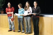 V kroměřížském Domě kultury se konalo ve středu 18. února 2009 oblastní kolo recitační soutěže Wolkerův Prostějov.