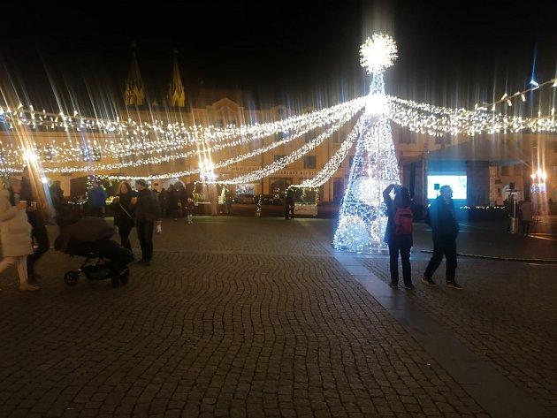 Vánoční trhy vKroměříži.