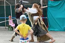 V Němčicích se v sobotu 27. srpna konala akce pro děti k ukončení prázdnin.