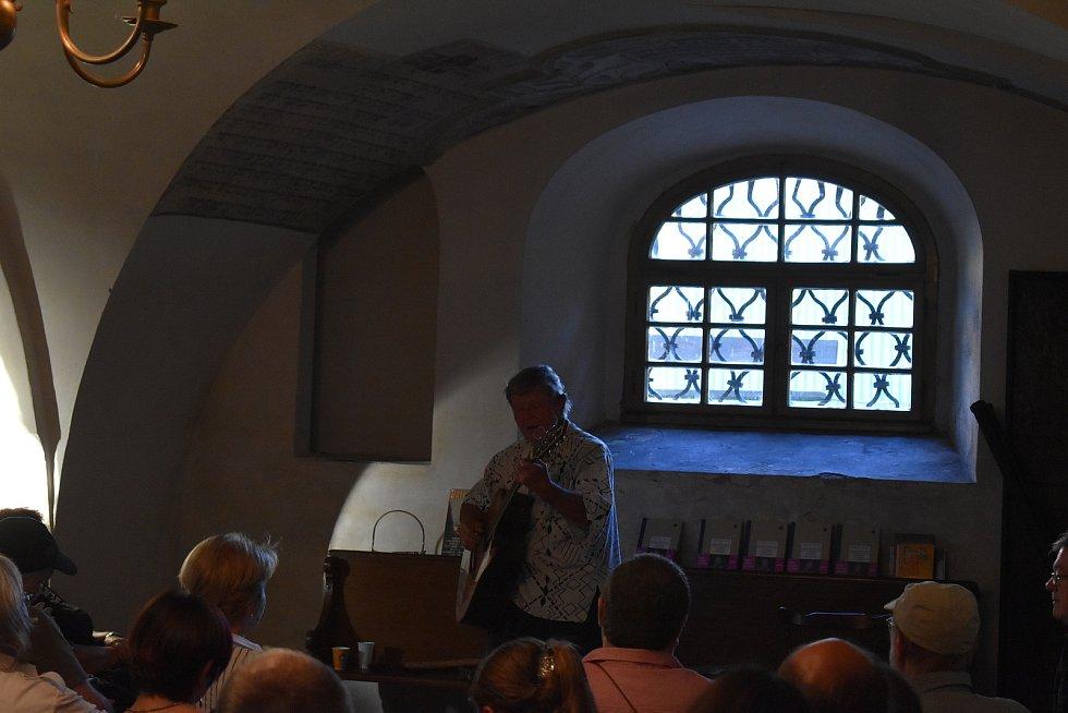 Festival židovské kultury v Holešově. Vladimír Merta