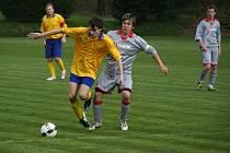 Fotbalisté Lubné B remizovali v dohrávce s rezervou Kvasic.