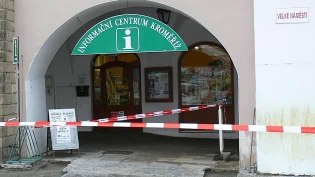 Informační centrum Kroměříž.