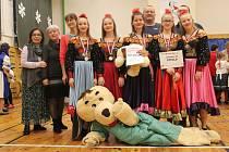 Folklorní tance se letos vHolešově konaly smezinárodní účastí