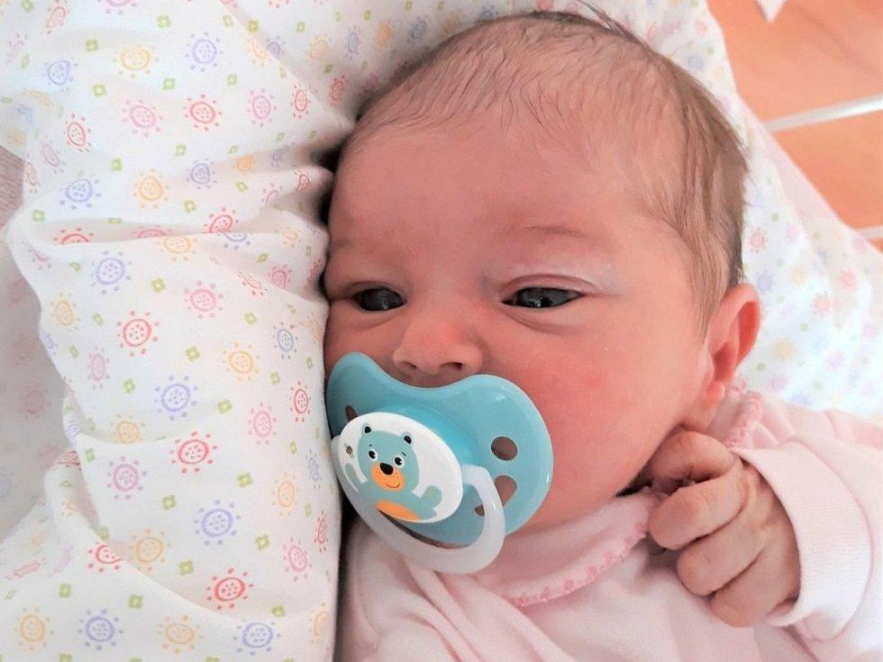 Veronika Loupancová, Libosváry, narozena 21. července 2021 ve Valašském Meziříčí, míra 48 cm, váha 2850 g