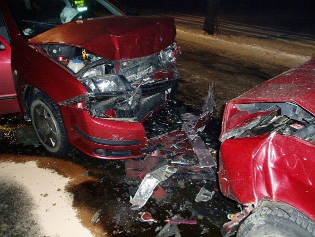 Vážná nehoda u Kotojed.