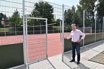 Stavba nového sportovního areálu v Postoupkách byla dokončena
