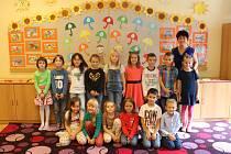 Třída 1. A ze Základní školy Komenského v Kroměříži s paní učitelkou Mgr. Janou Šimkovou
