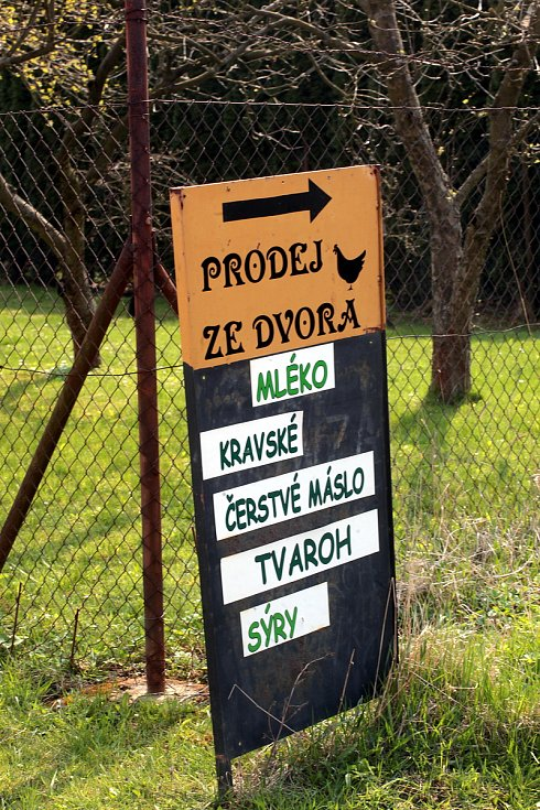 Farma v Cetechovicích.