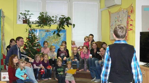 Akci s názvem Den pro dětskou knihu uspořádali 1. prosince v Knihovně Kroměřížska. Pro děti byly připraveny nejrůznější hry a soutěže.