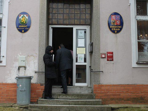 Obecní volby ve Chvalnově