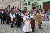 V Holešově oslavili úrodu.