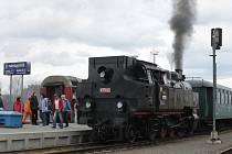 Oslavy výročí železnice se uskutečnili v sobotu v Kroměříži.