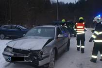 Na srážku u Rajnochovic doplatila zraněním řidička