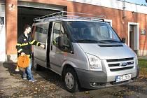 V Pravčicích dostali hasiči nové auto.