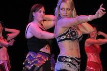 V kroměřížském Domě kultury zatančily amatérské i profesionální tanečnice.