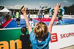 basketbalový turnaj Chance 3x3 v Kroměříži 2021